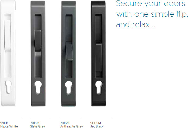 Lever handle colour choices - Origin Inline Slider - Origin Sliding Door