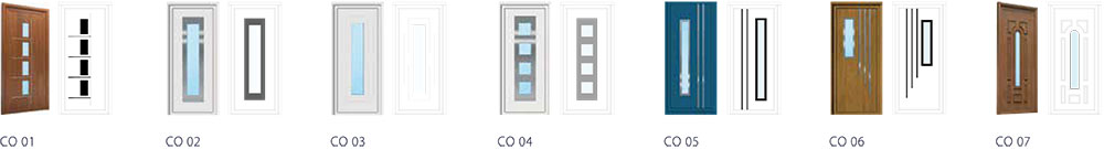 Contemporary - Origin Front Door Range