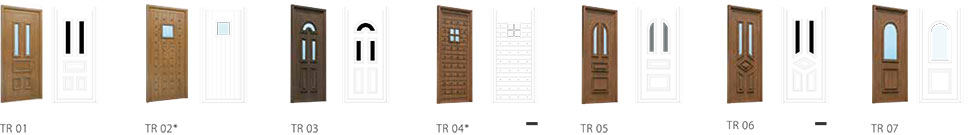 Traditional - Origin Front Door Range