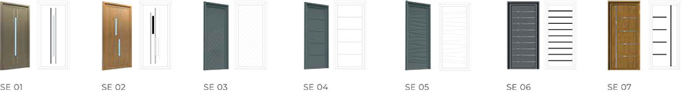 Seamless - Origin Front Door Range