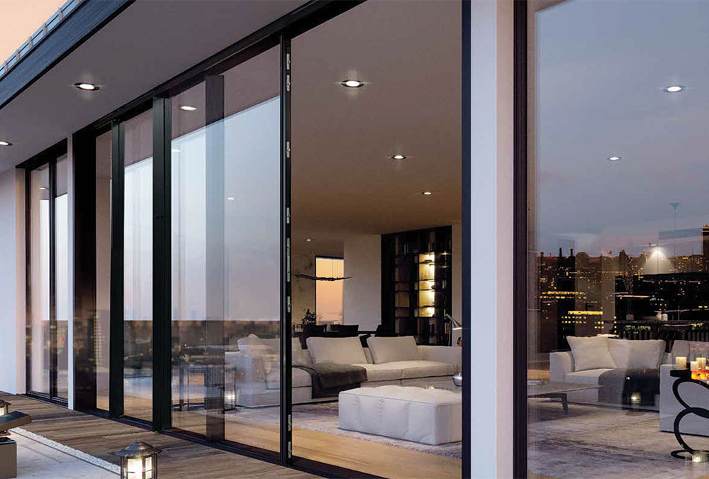 Origin Sliding Door