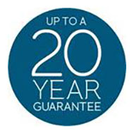 Up to a 20 year guarantee