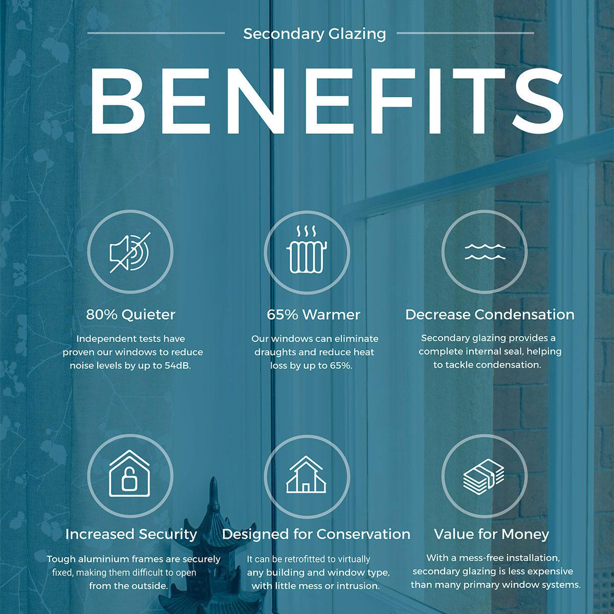Secondary Glazing benefits