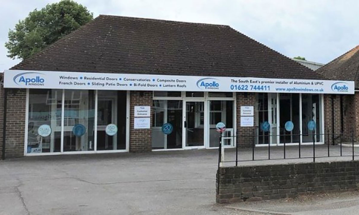 Our new showroom - Apollo Windows News