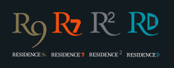 Residence UPVC logos - Residence Collection